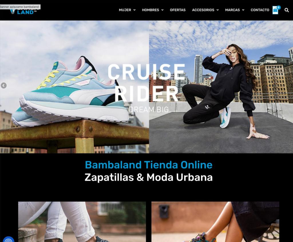 Diseño web Bambaland